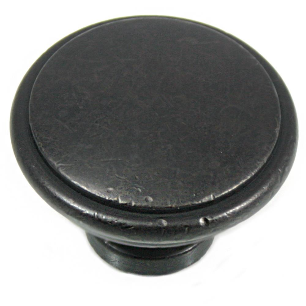"MNG Hardware 83113 1 1/4"" Knob - Grace - Oil Rubbed Bronze"