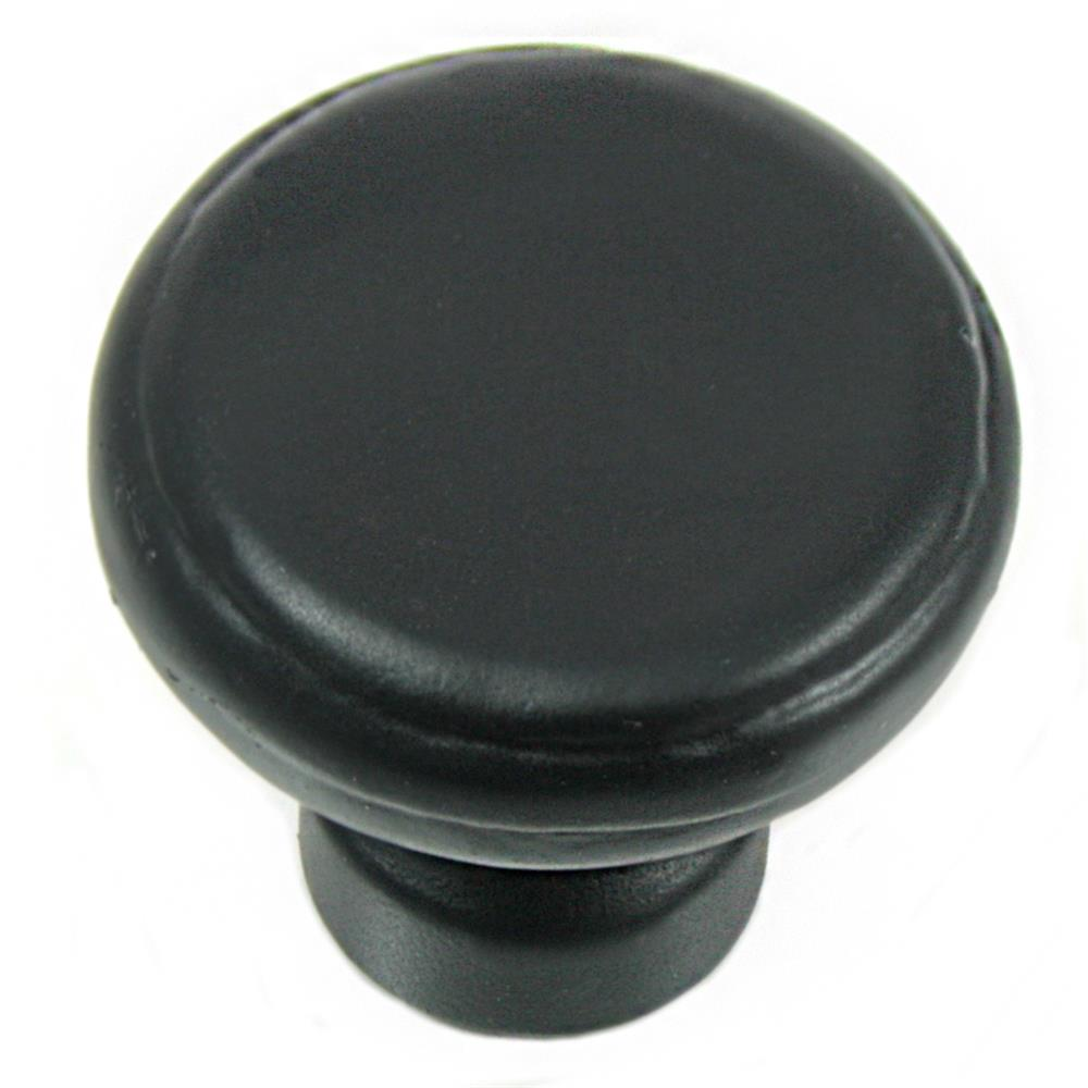 MNG Hardware 84313 Large Button Knob - Riverstone - Oil Rubbed Bronze