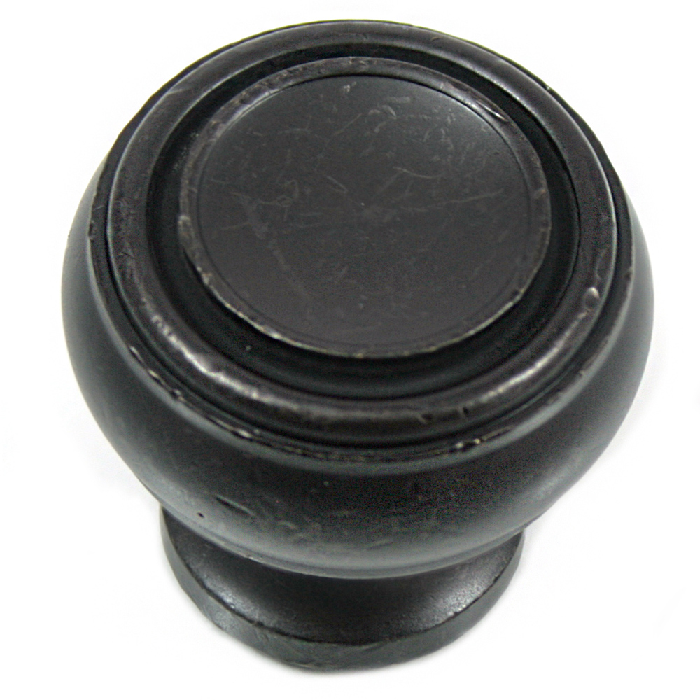 "MNG Hardware 85013 1 1/4"" Knob - Balance - Oil Rubbed Bronze"