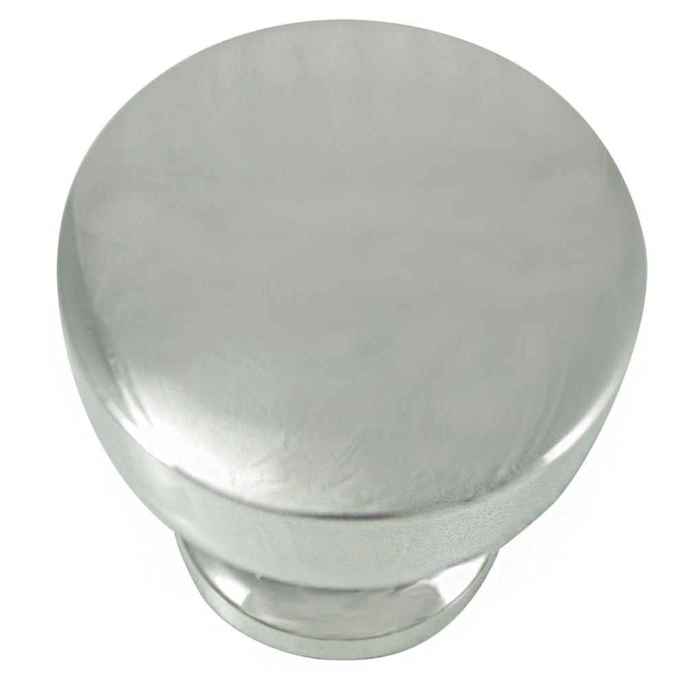 "MNG Hardware 85414 1 1/4"" Knob - Precision - Polished Nickel"