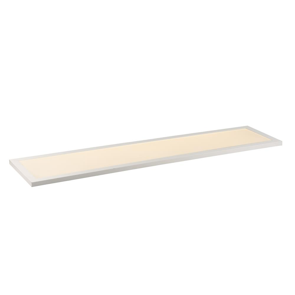"Maxim Lighting 57774WTWT Sky LED 12""x48"" 4000K Flush Mount"