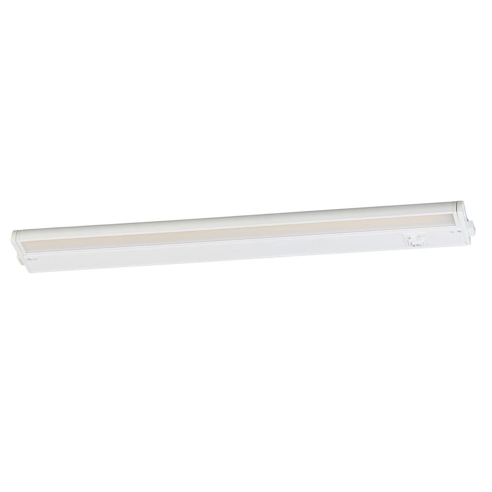 "Maxim Lighting 89895WT CounterMax MX-L-120-3K 24"" 2700-4000K LED UC in White"