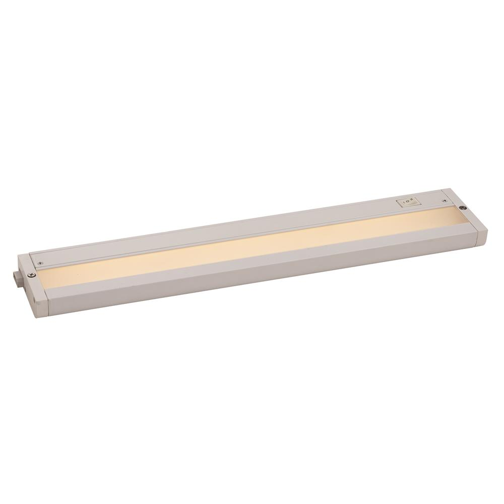 "Maxim Lighting 89984WT CounterMax MX-L-120-2K 18"" 2700K or 3200K LED UC"
