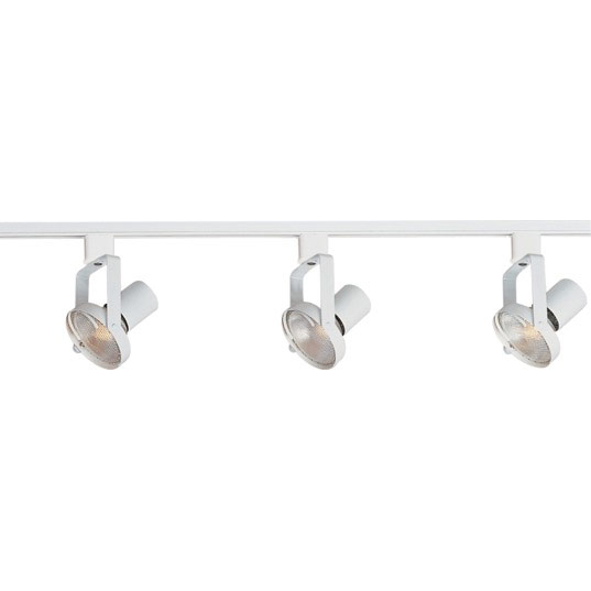 Maxim Lighting 92320WT 3-Light Track Kit in White