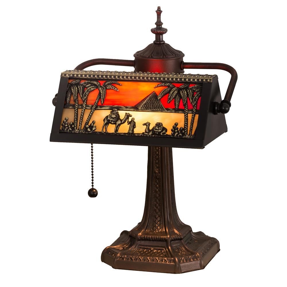 Meyda Tiffany Lighting 27142 Bankers Desk Lamp