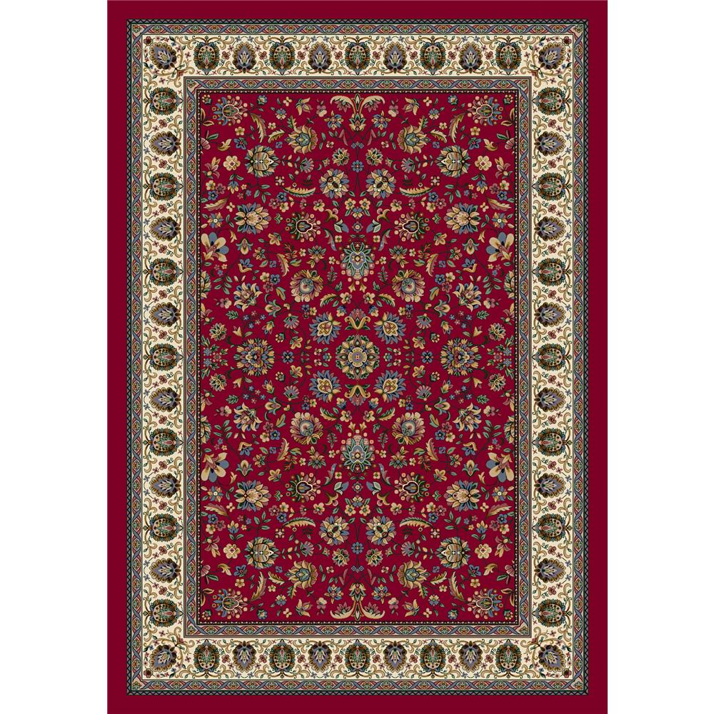 Milliken Signature Persian Palace Rug in Ruby-2.8x3.10 Rectangle