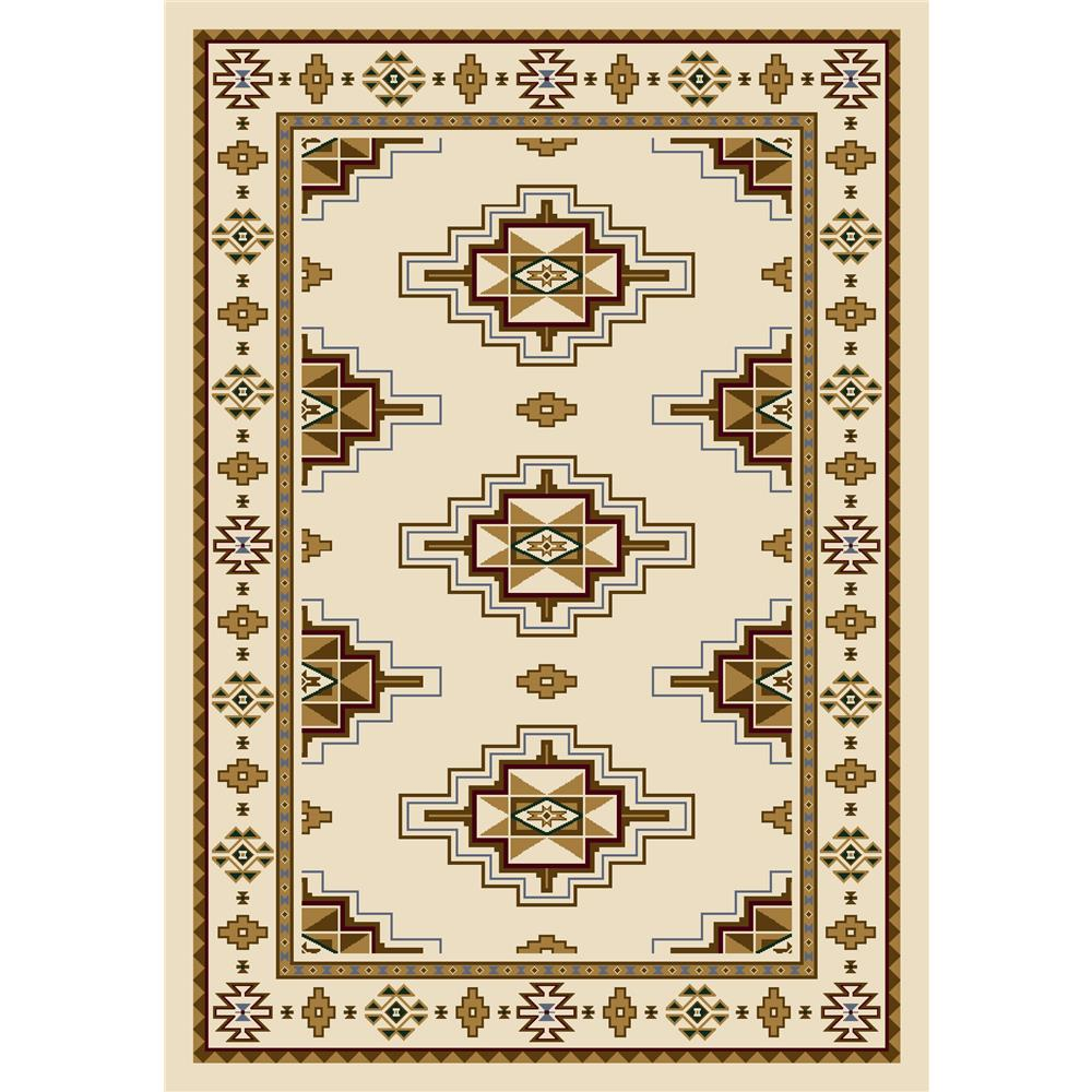 Milliken Signature Prairie Star Rug in Opal-10.9x13.2 Rectangle