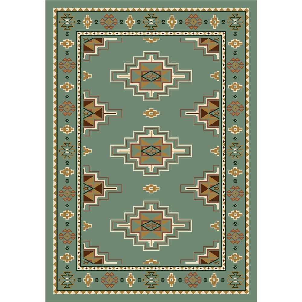 Milliken Signature Prairie Star Rug in Peridot-10.9x13.2 Rectangle