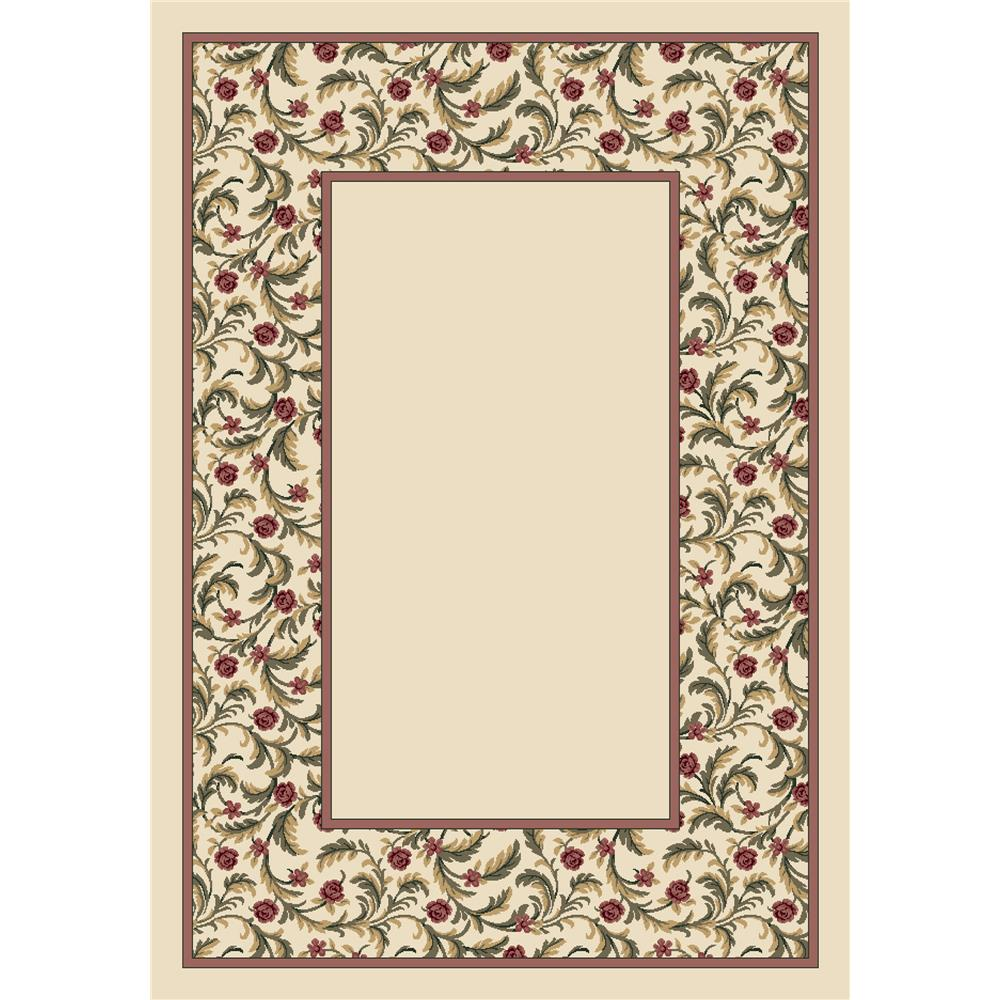 Milliken Design Center Latin Rose Rug in Opal II-3.10x5.4 Rectangle
