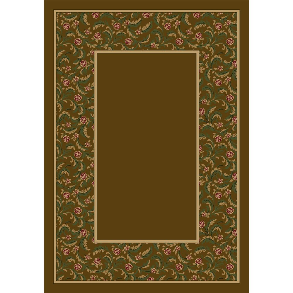 Milliken Design Center Latin Rose Rug in Nutmeg II-3.10x5.4 Rectangle