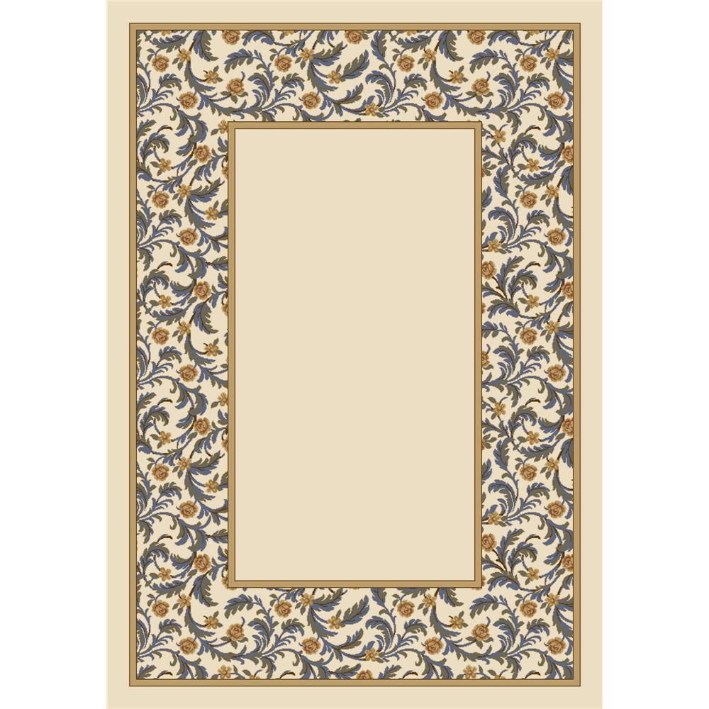 Milliken Design Center Latin Rose Rug in Opal Lapis-3.10x5.4 Rectangle