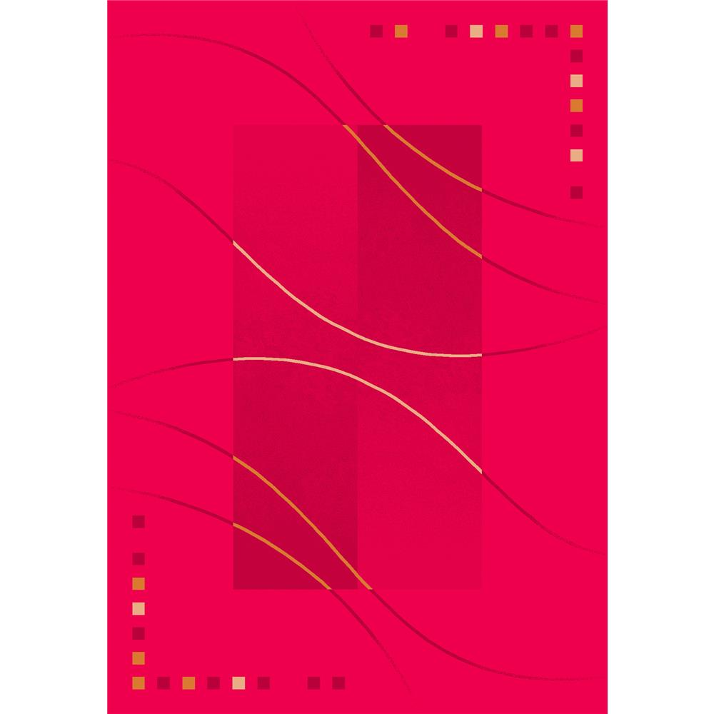 Milliken Pastiche Caliente Rug in Rouge-2.8x3.10 Rectangle