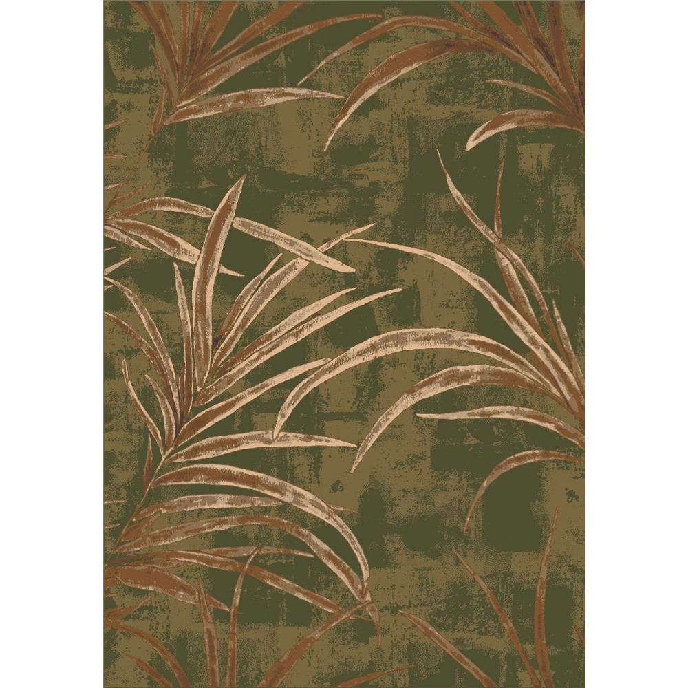 Milliken Pastiche Rain Forest Rug in Deep Olive-2.8x3.10 Rectangle