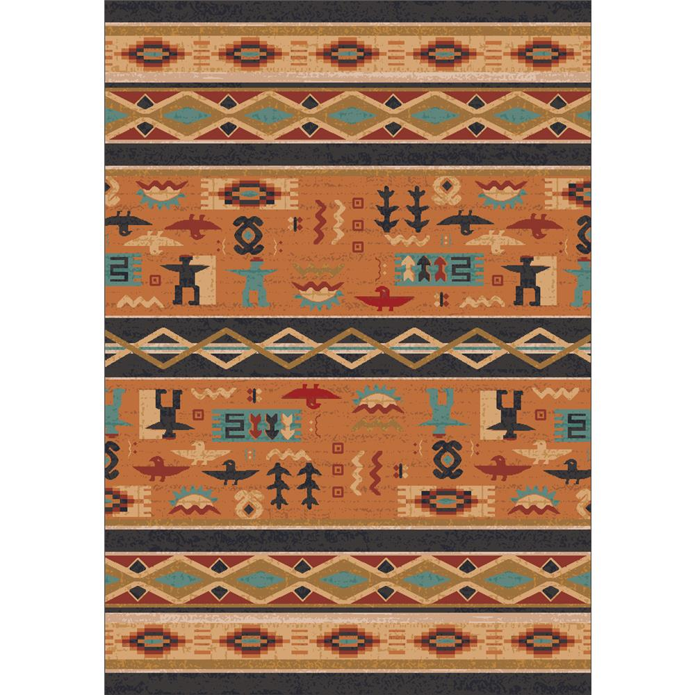 Milliken Modern Times Kiva Rug in Smog-2.8x3.10 Rectangle