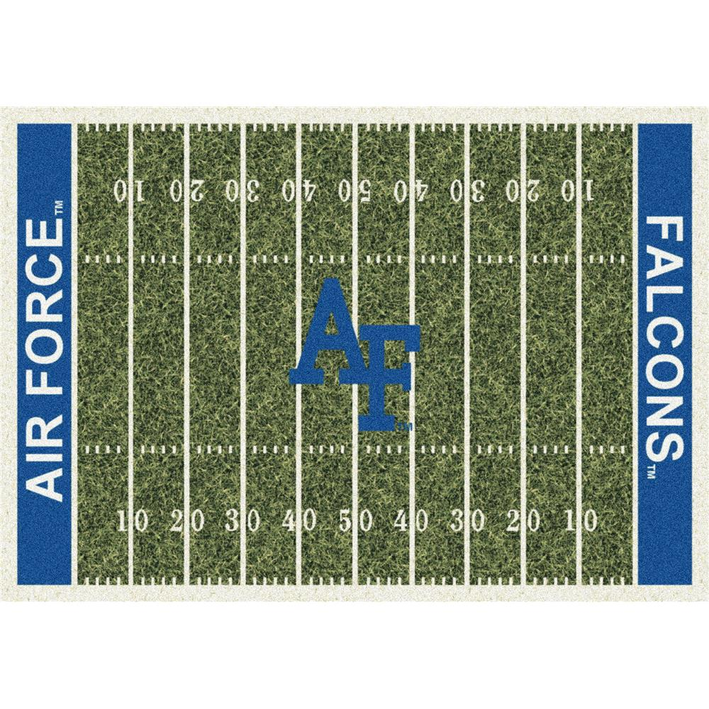 Milliken College Home Field Air Force Team Rug in 3