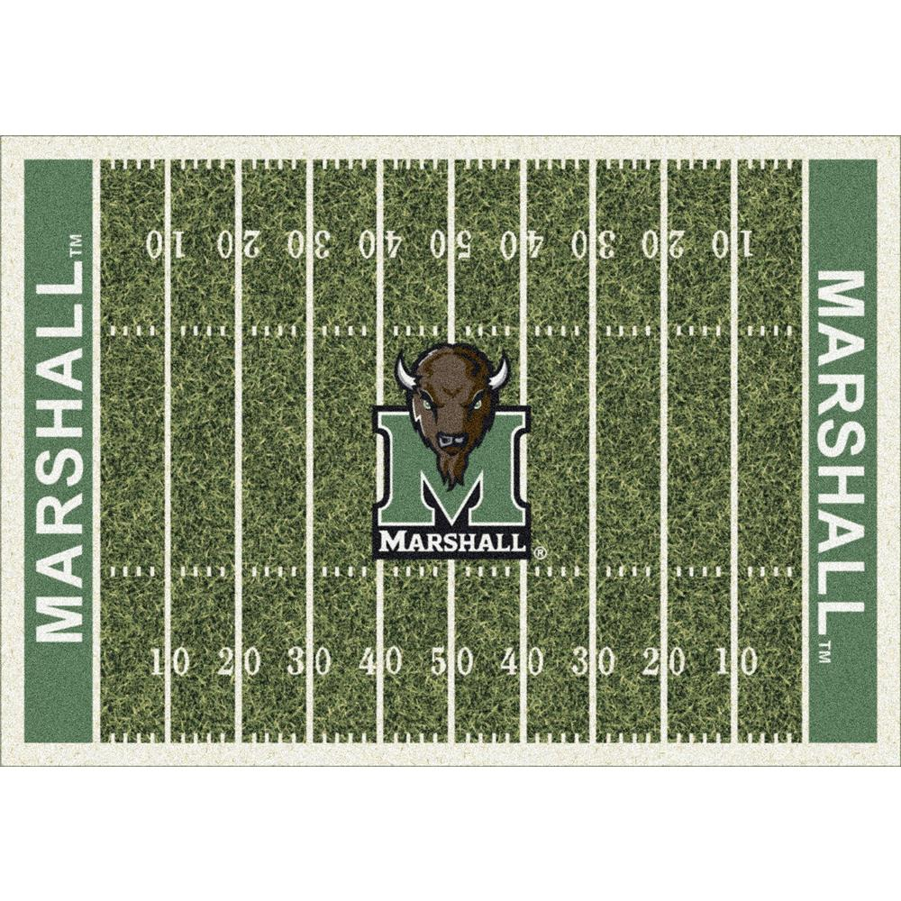 Milliken College Home Field Marshall Team Rug in 3