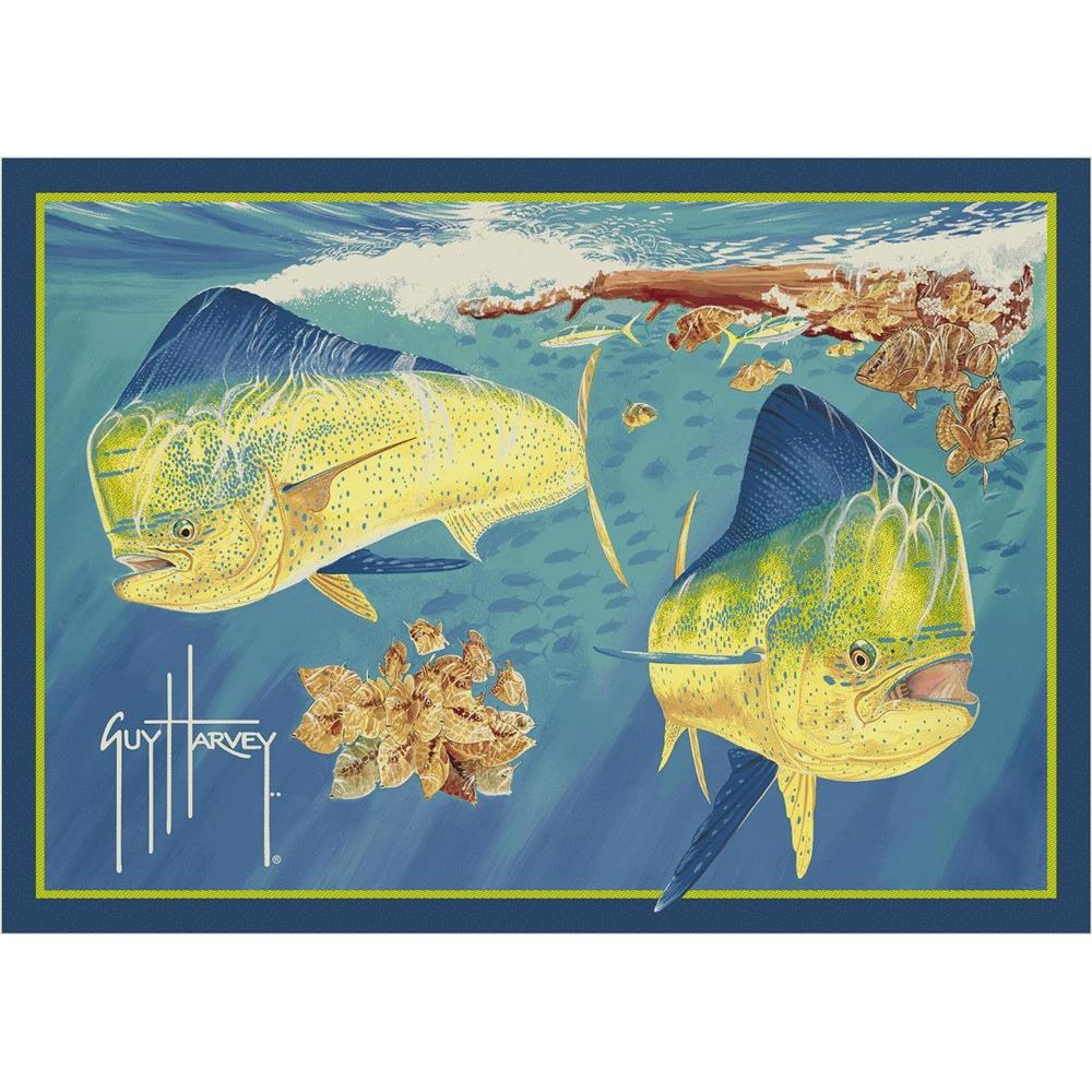 Milliken Guy Harvey Dorado Rug-2.8x3.10 Rectangle