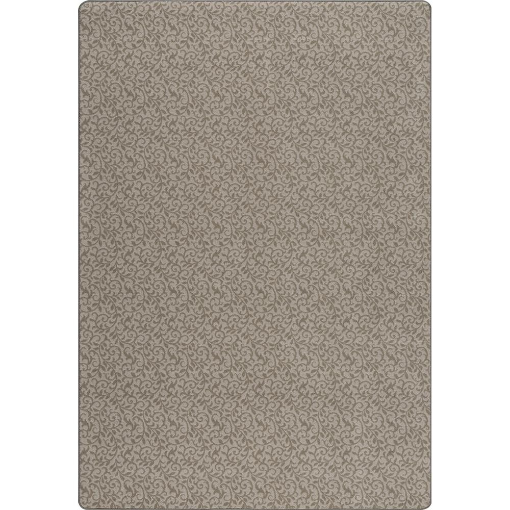 Miliken and Company Imagine GRACEFUL GARDEN Area Rug in SILVER ASH