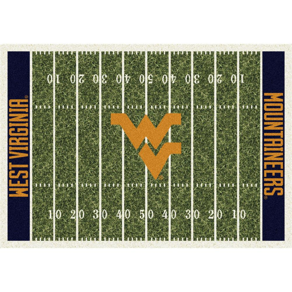 Milliken College Home Field West Virginia Team Rug in 3