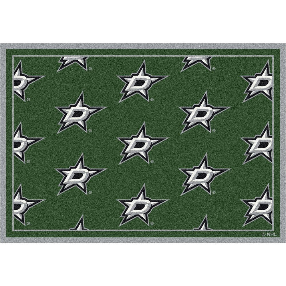 Milliken NHL Team Repeat Dallas Stars Team Rug in 3