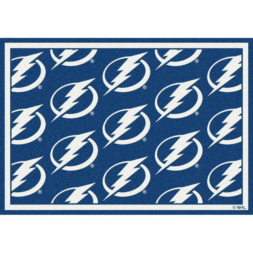 Milliken NHL Team Repeat Tampa Bay Lightning Team Rug in 2