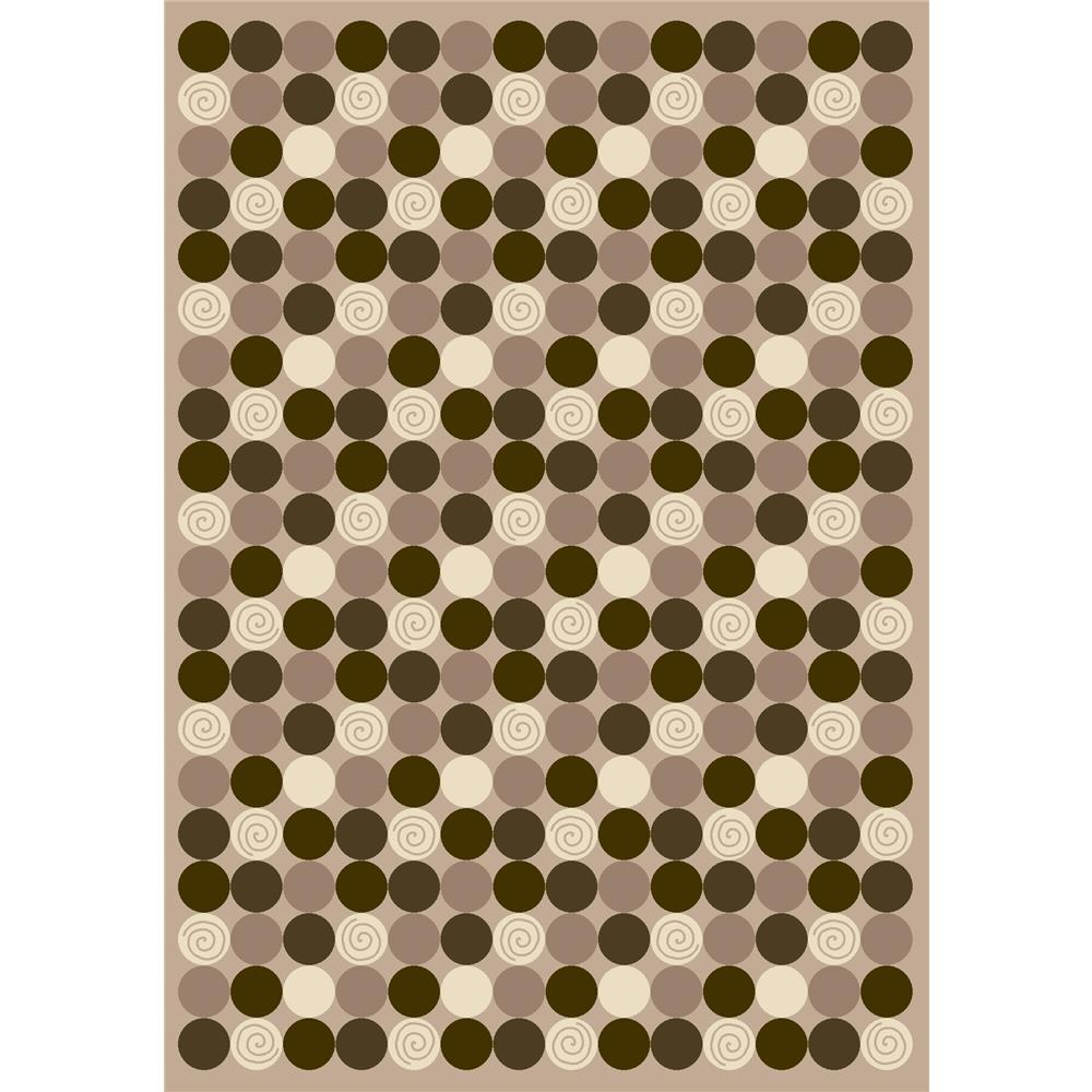 Milliken Innovations Da T Da Rug in Pearl Mist-2.8x3.10 Rectangle