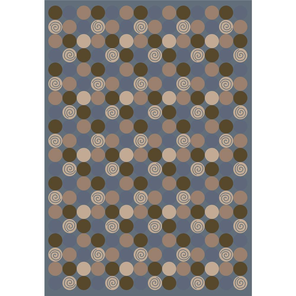Milliken Innovations Da T Da Rug in Pale Lapis-2.8x3.10 Rectangle