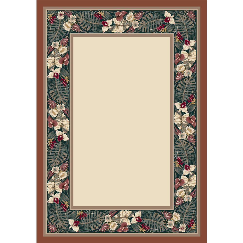 Milliken Innovations Kapalua Rug in Opal/Coral-2.8x3.10 Rectangle