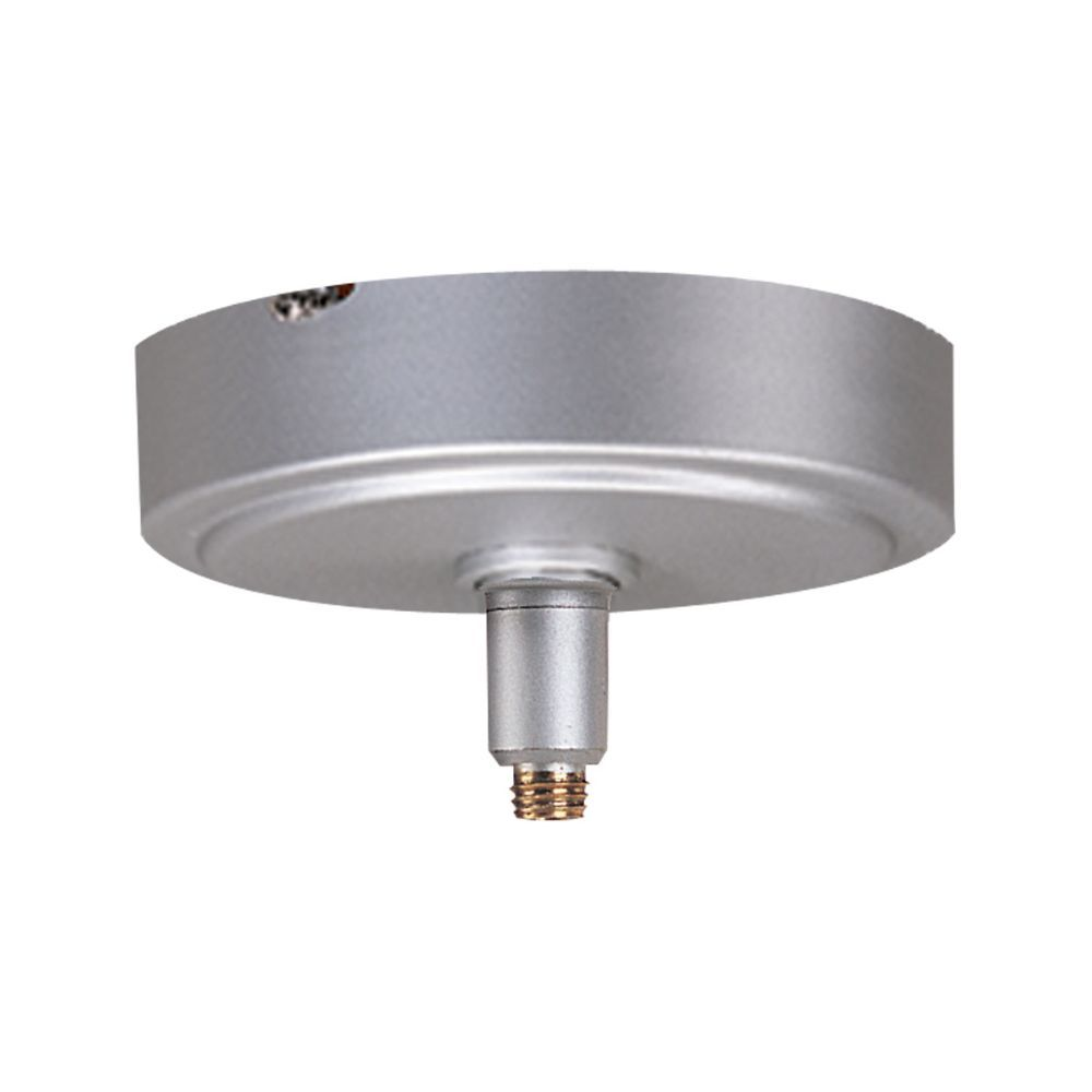 Nora Lighting NRS99-P47BN/12V Rail Monopoint Ceiling Canopy Quickjack in Brushed Nickel