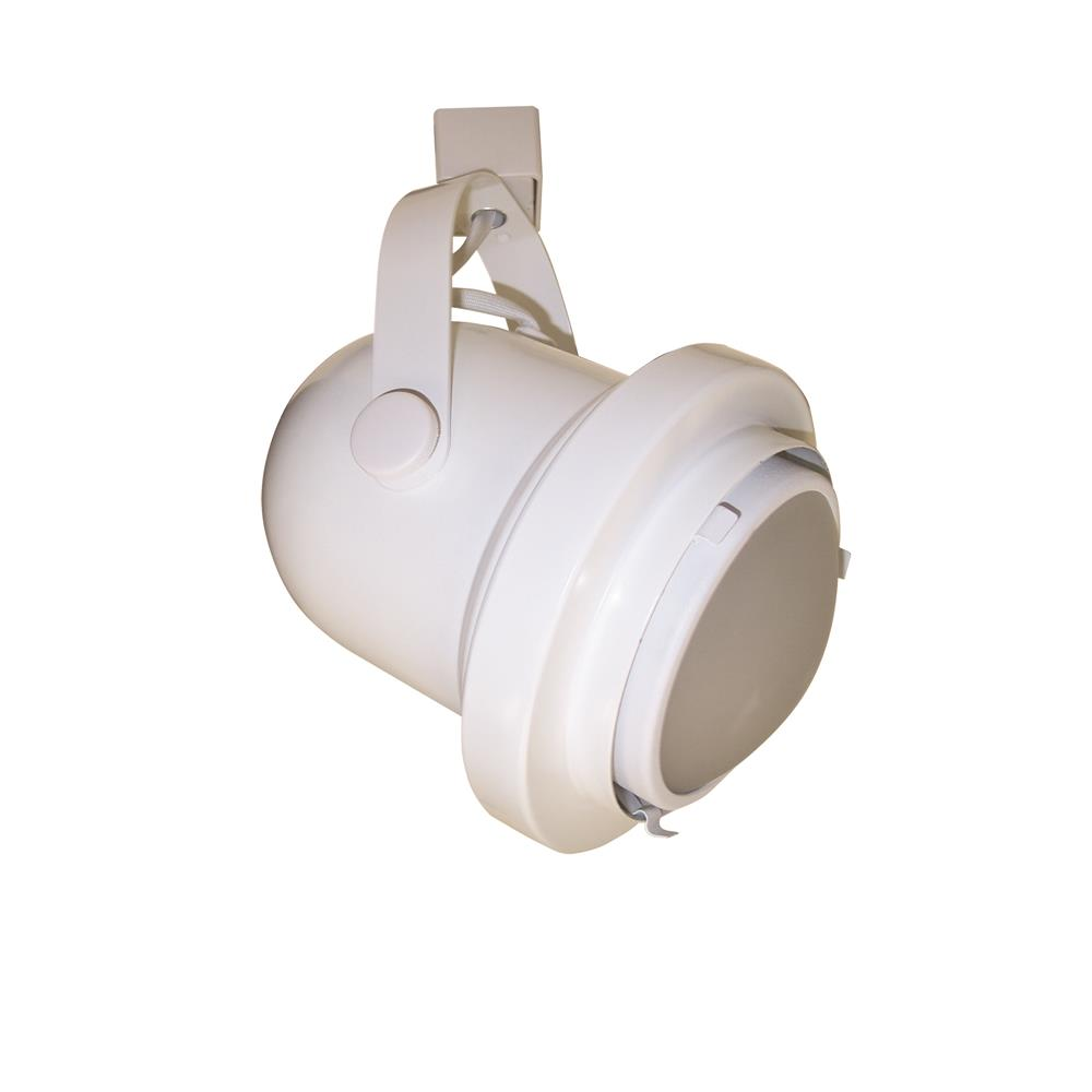 Nora Lighting NTH-111G24W GU24 Classic Cylinder with Convex Frosted Lens White with White Lens Holder H-Style