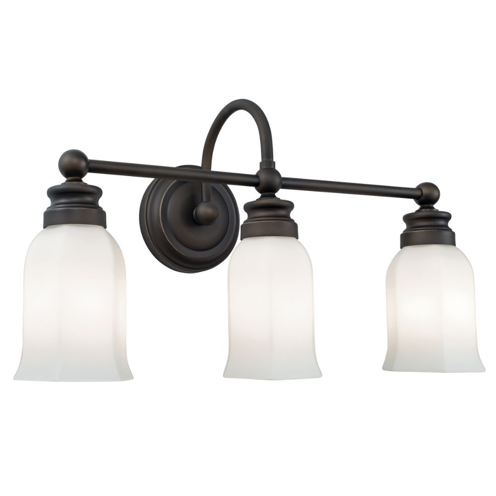 Norwell Lighting 8913-OB-HXO Emily Wall Sconce in Oil Rubbed Bronze (Hexagonal Opal Shade)