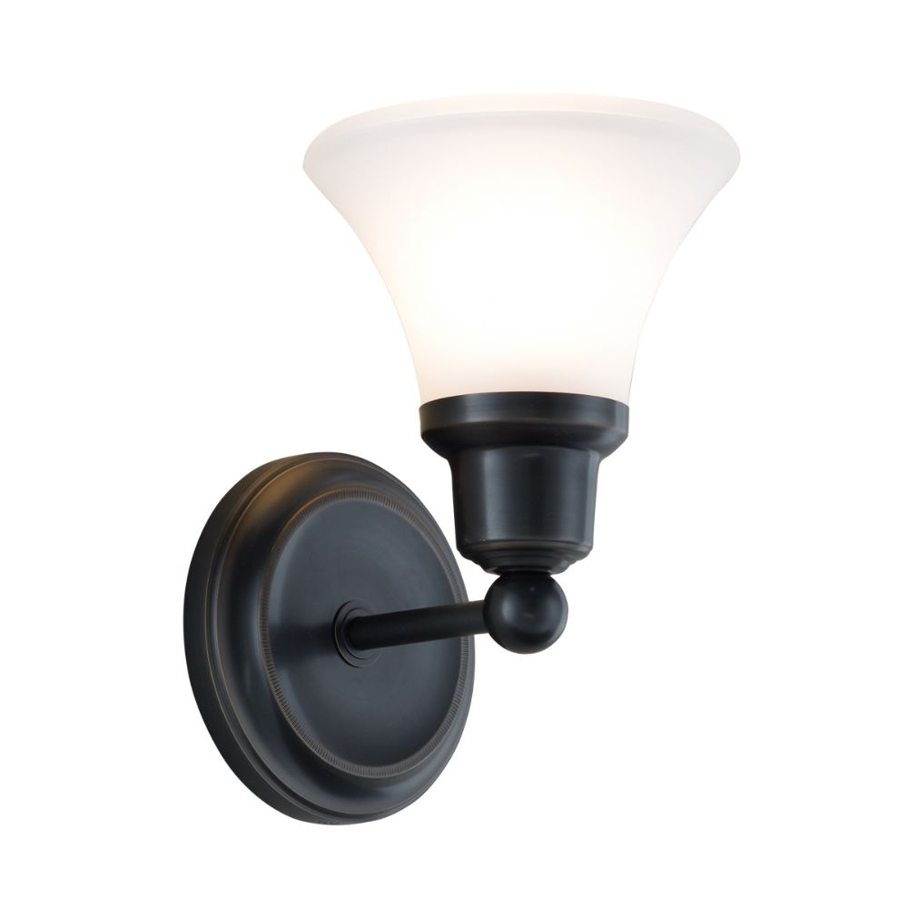 Norwell Lighting 8951-OB-FL Elizabeth Wall Sconce in Oil Rubbed Bronze (Flare Shade)