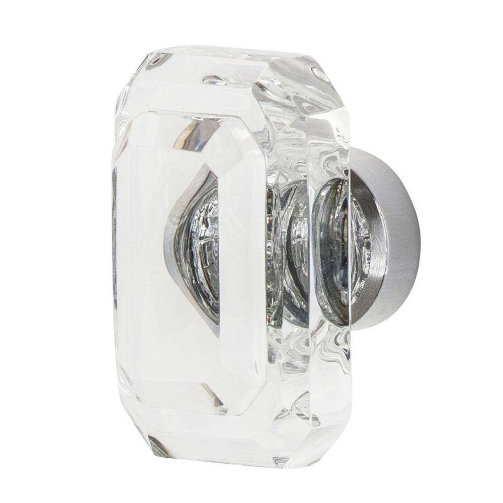 "Nostalgic Warehouse CKB_BCC_45 Baguette Cut Crystal 1 3/4"" Cabinet Knob in Bright Chrome"