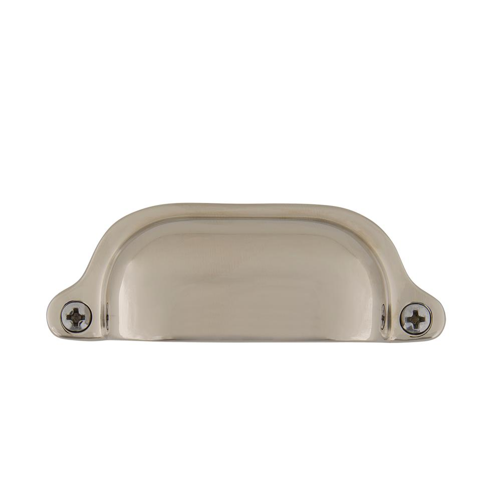 Nostalgic Warehouse 761741 Cup Pull Farm Medium in Polished Nickel
