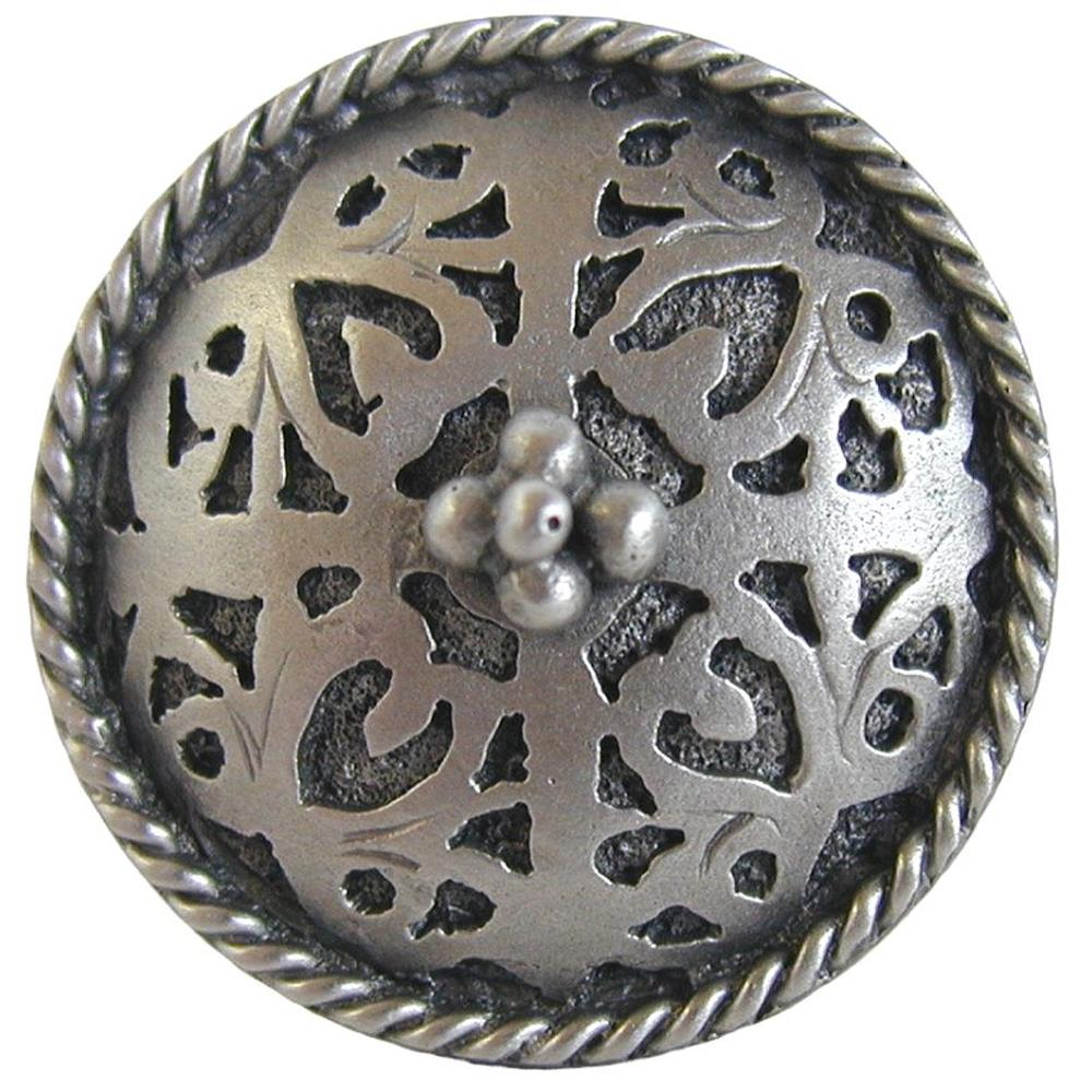 Notting Hill NHK-112-AP Moroccan Jewel Knob Antique Pewter