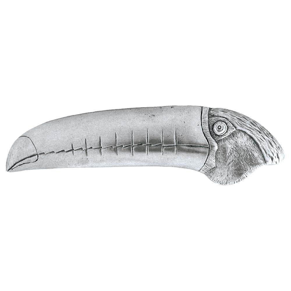 Notting Hill NHP-330-BP-R Toucan Pull Brilliant Pewter (Right side)