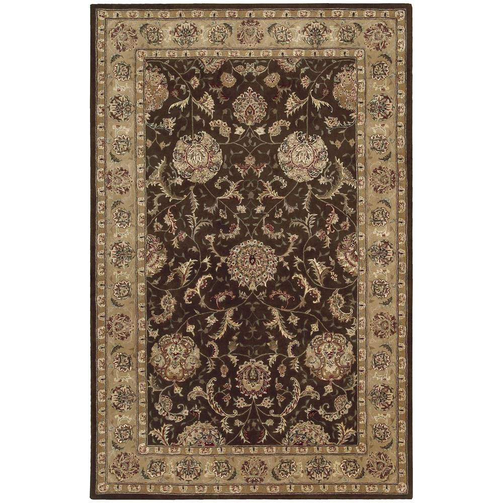 Nourison 2206 Nourison 2000 2 Ft. X 3 Ft. Rectangle Rug in Brown
