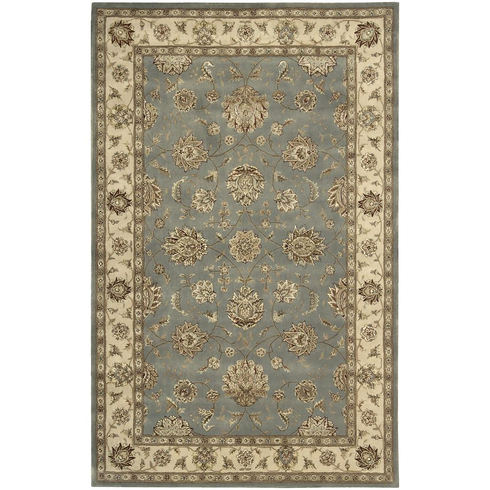 Nourison 2210 Nourison 2000 2 Ft. X 3 Ft. Rectangle Rug in Blue