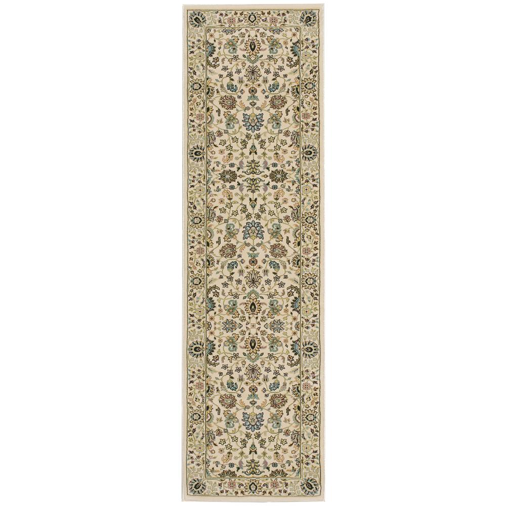 Nourison ANT04 Antiquities 3 Ft.9 In. x 5 Ft.9 In. Indoor/Outdoor Rectangle Rug in  Ivory
