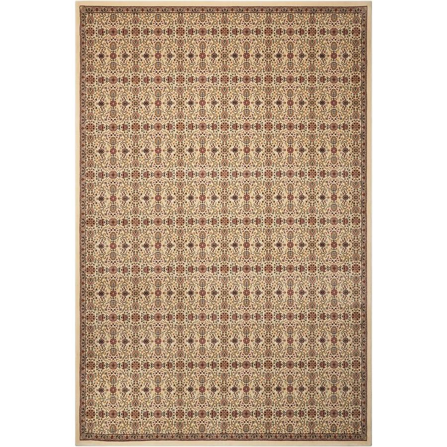 Nourison ANT08 Antiquities 2 Ft.2 In. x 7 Ft.6 In. Indoor/Outdoor Runner Rug in  Ivory