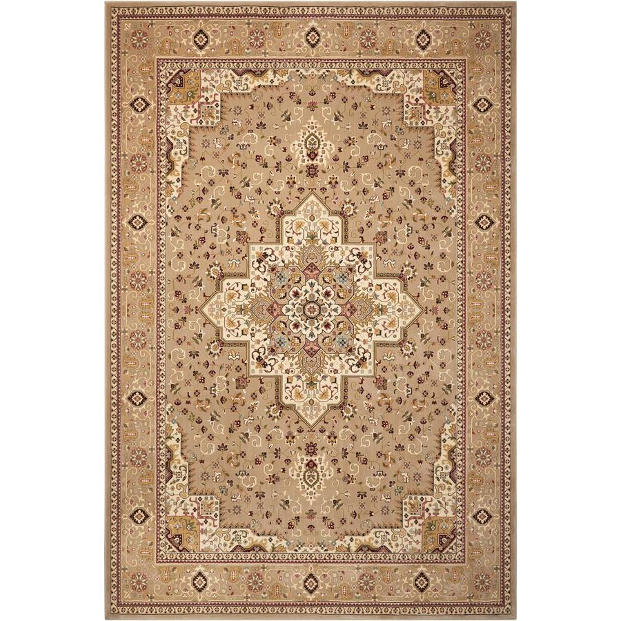 Nourison ANT09 Antiquities 2 Ft.2 In. x 7 Ft.6 In. Indoor/Outdoor Runner Rug in  Beige