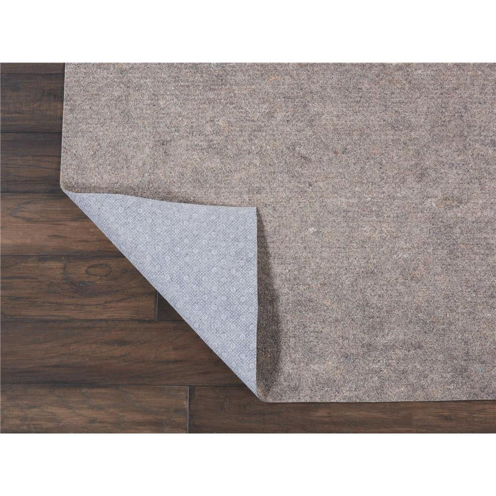 Nourison BR21 RugLoc 1 Ft.8 In. x 7 Ft.6 In. Indoor/Outdoor Runner Rug in  Grey