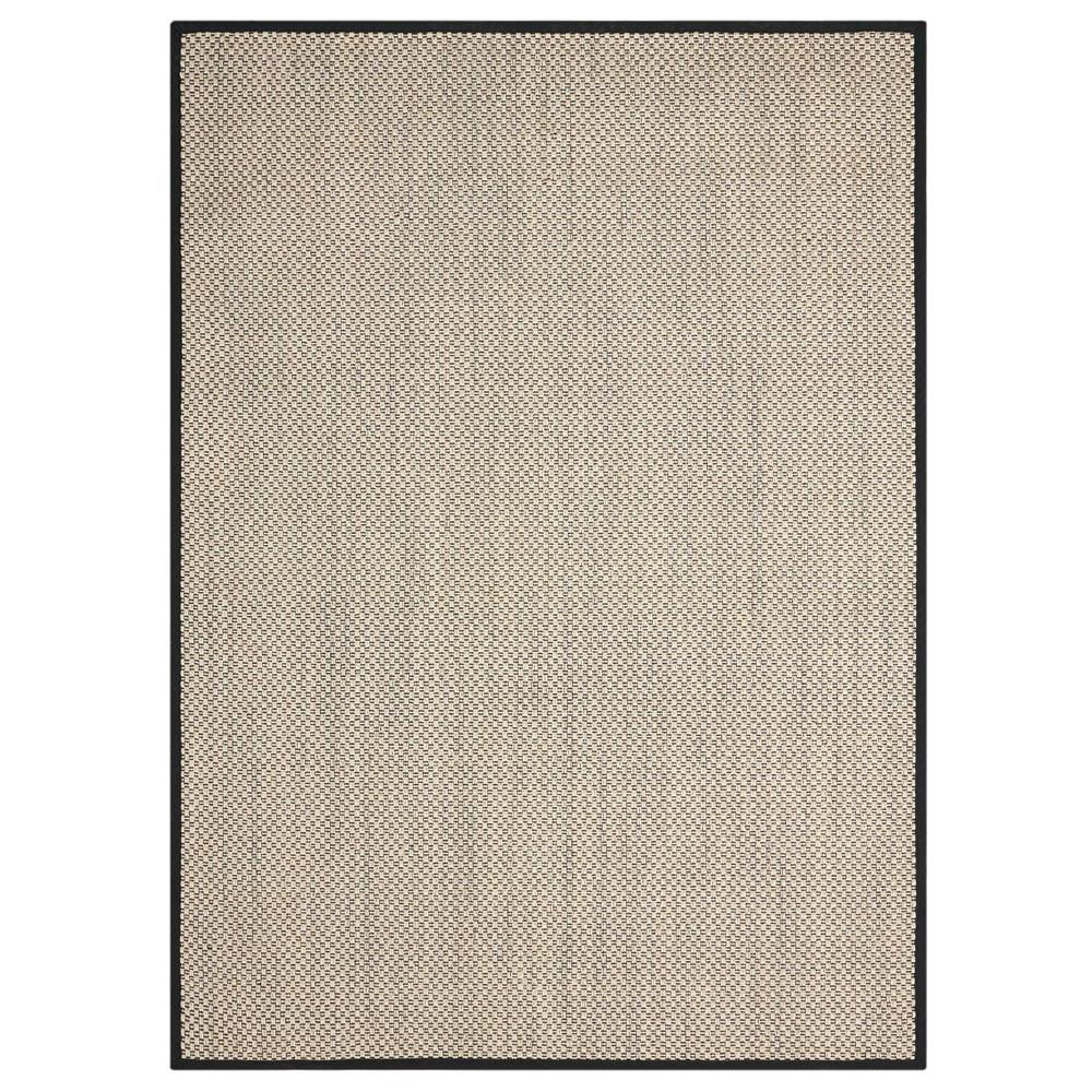 Nourison BE003 Fantasy 5 Ft.  X 7 Ft. Rectangle Rug in Charcoal,Sunset