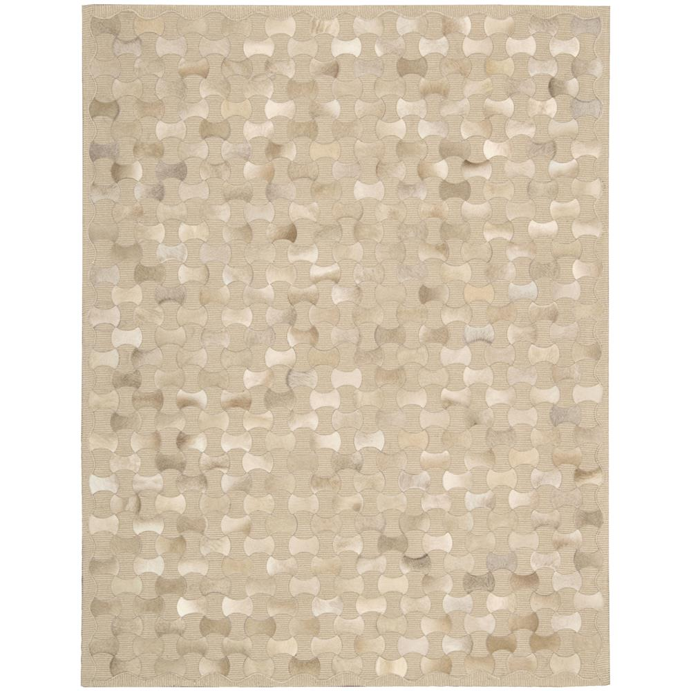 Nourison CHI01 Joab2 Chicago 3 Ft. 6 In. X 5 Ft. 6 In. Rectangle Rug in Beige