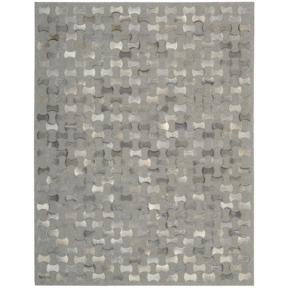 Nourison CHI01 Joab2 Chicago 8 Ft. X 11 Ft. Rectangle Rug in Grey