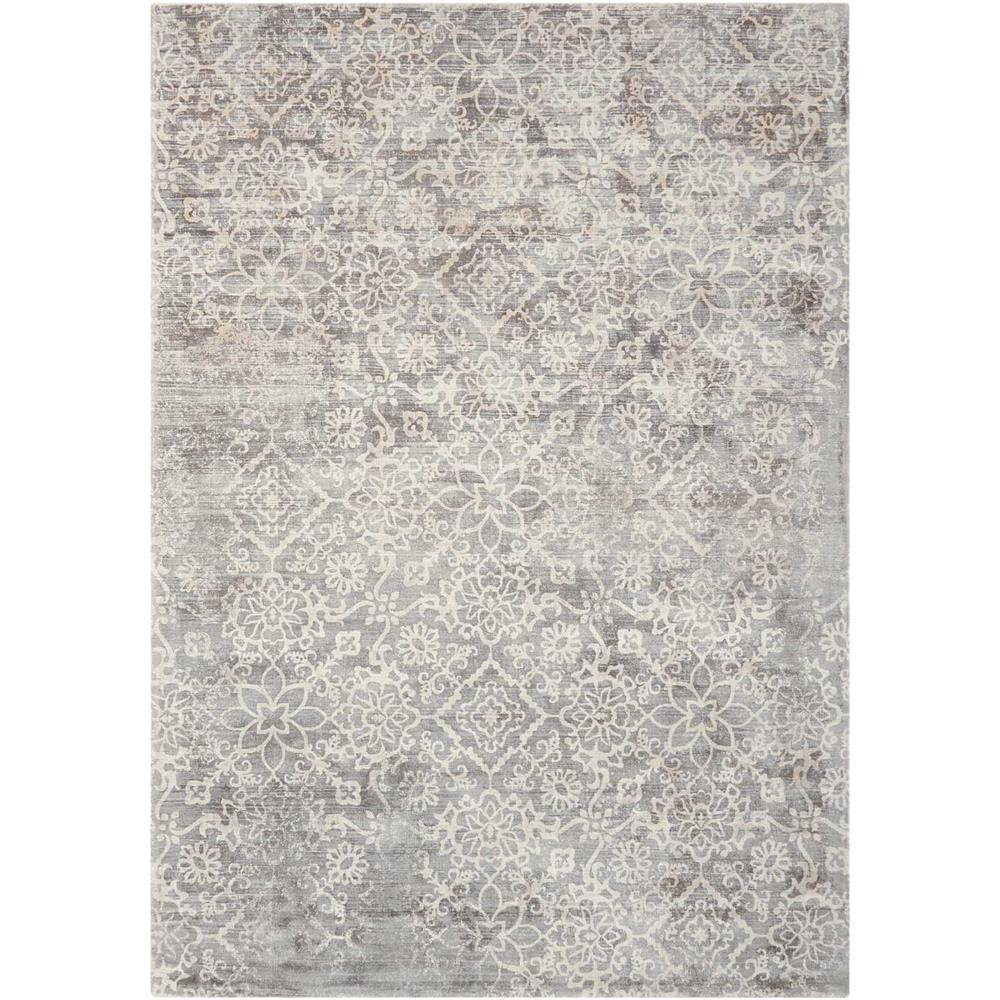 Nourison DSK03 Desert Skies 9 Ft. x 12 Ft. Indoor/Outdoor Rectangle Rug in  Grey