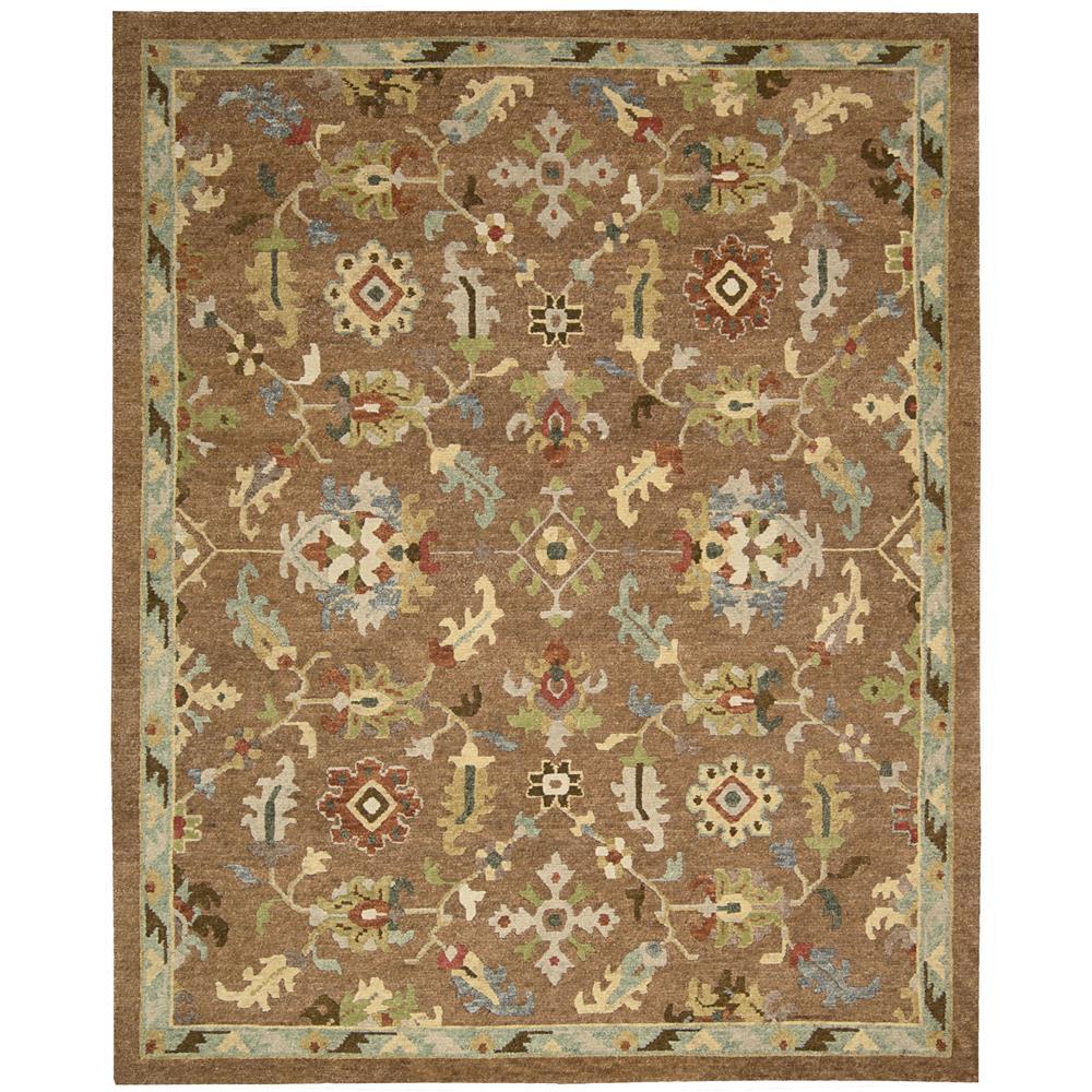Nourison TA13 Tahoe 5 Ft. 6 In. X 8 Ft. 6 In. Rectangle Rug in Penny
