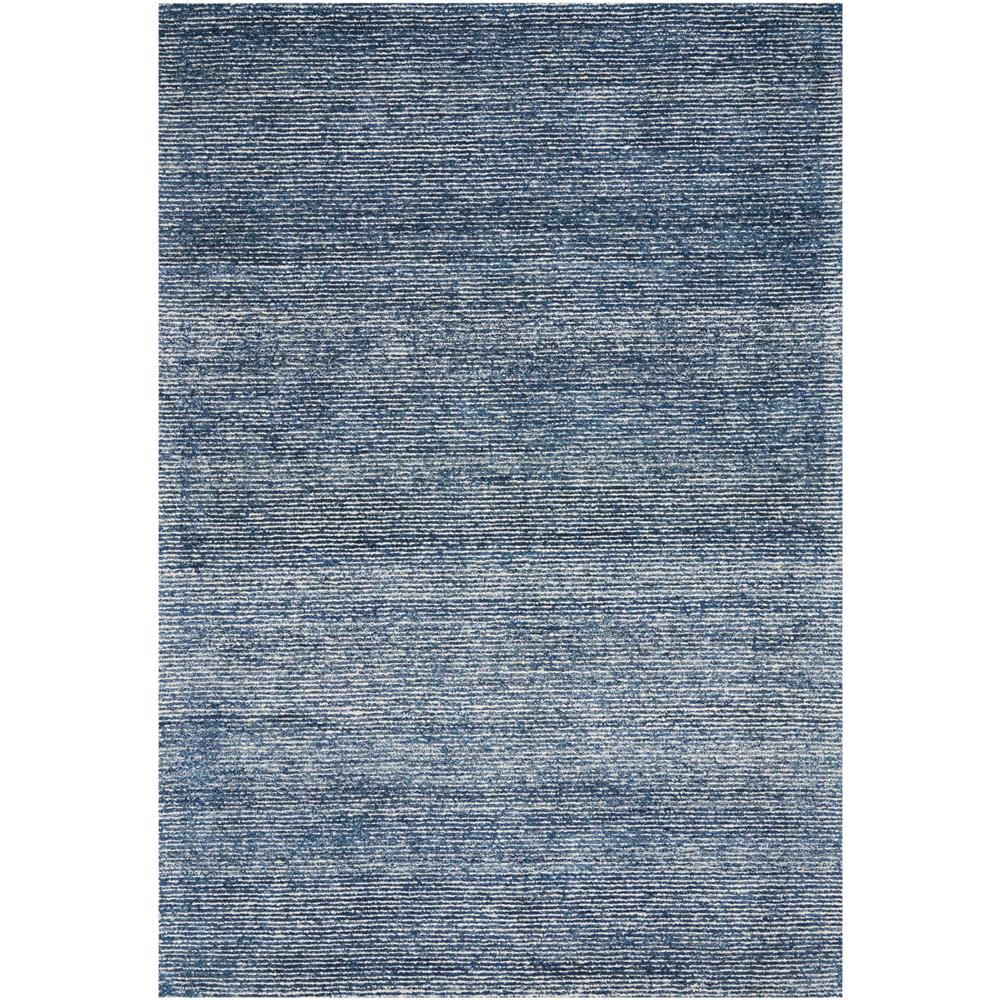 Nourison WES01 Weston 3 Ft.9 In. x 5 Ft.9 In. Indoor/Outdoor Rectangle Rug in  Agean Blue