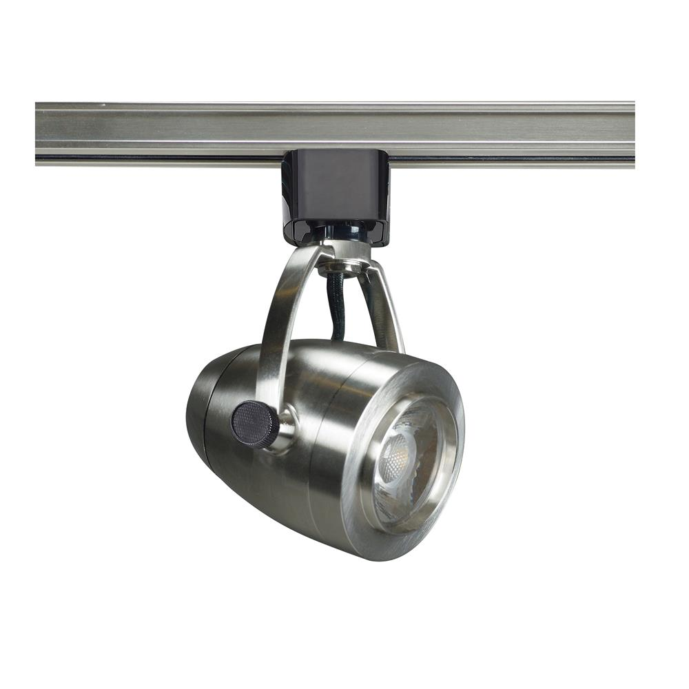Nuvo Lighting TH417  1 Light - LED - 12W Track Head - Pinch back shape - Brushed Nickel - 36 Deg. Beam in Brushed Nickel Finish