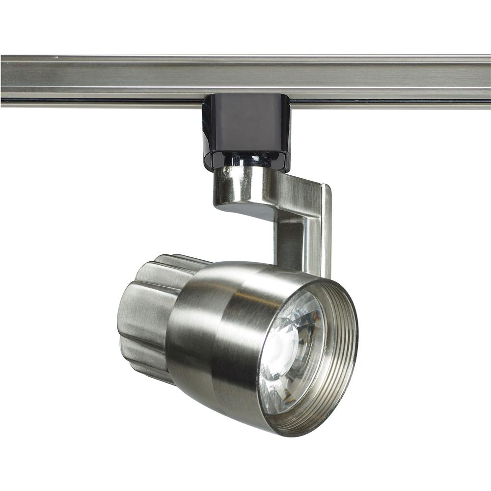 Nuvo Lighting TH425  1 Light - LED - 12W Track Head - Angle arm - Brushed Nickel - 24 Deg. Beam in Brushed Nickel Finish